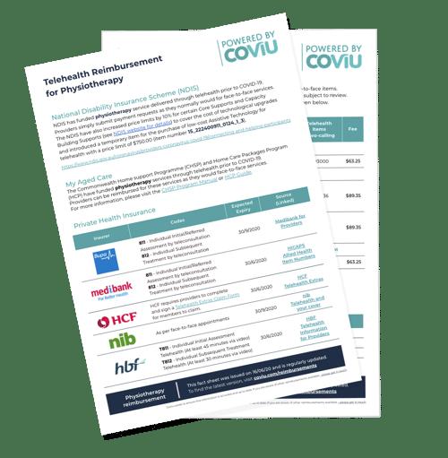 Coviu Reimbursement Fact Sheets