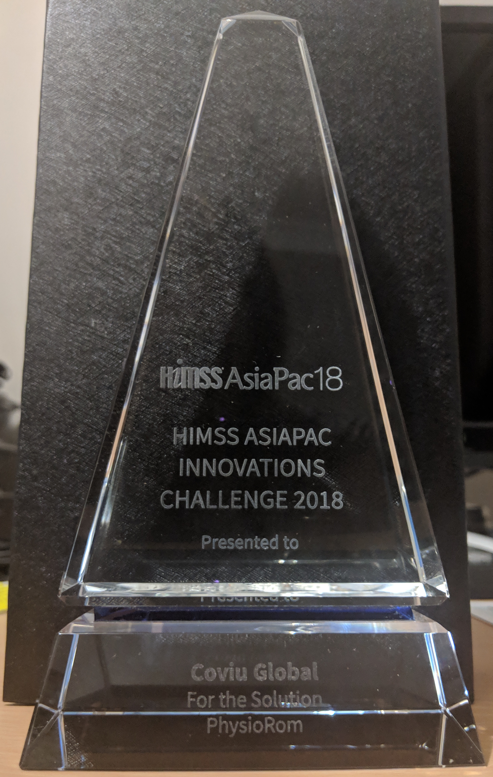 Coviu wins HIMMS award 2018