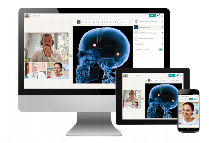 Coviu's telehealth software supports hybrid care