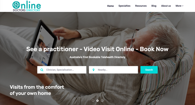 Online Doctors Directory of Australia is a new patient-facing telehealth directory