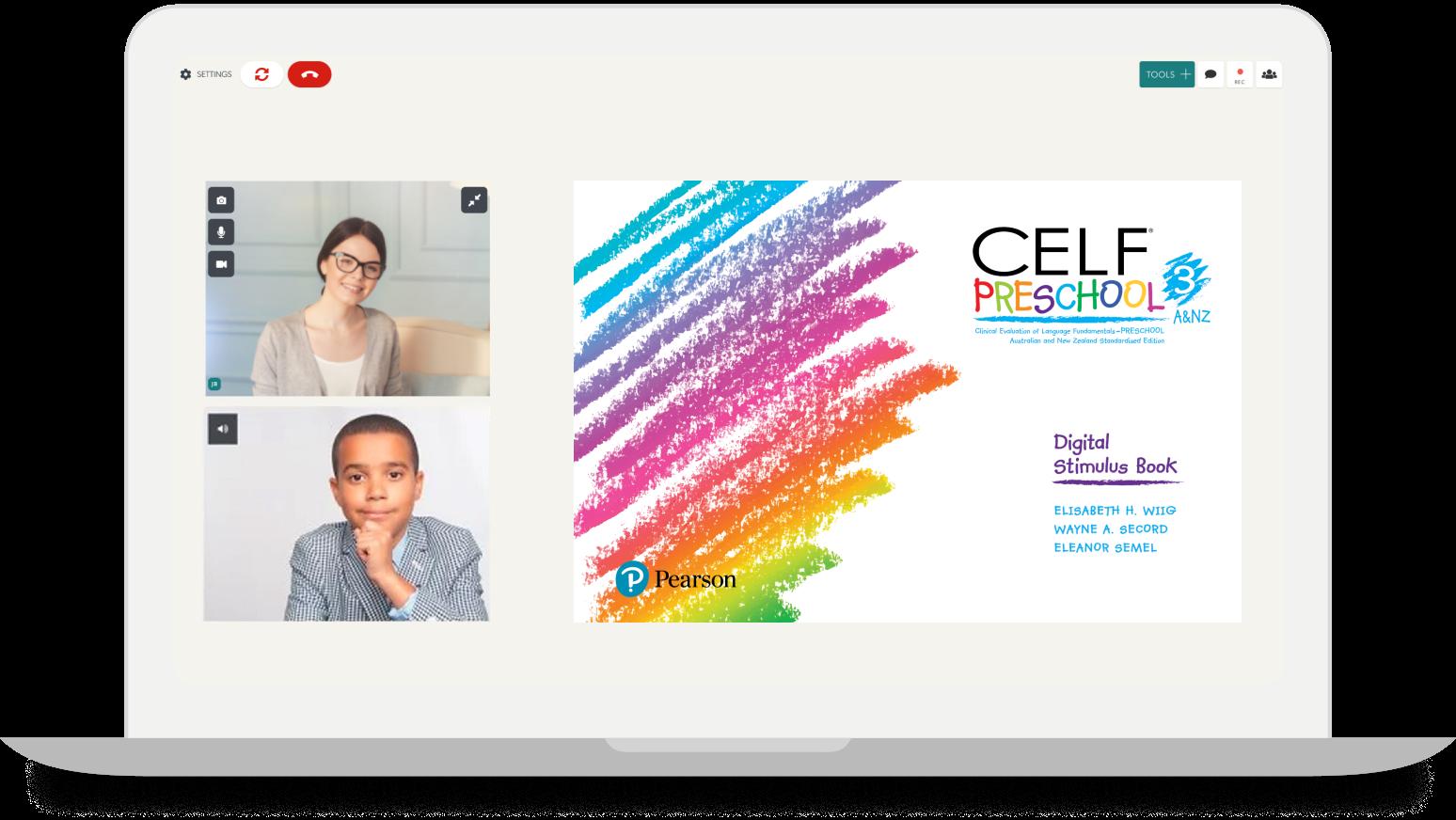 Pearson Webinar + Telehealth Tools Thursday - WISC-V & CELF-P3