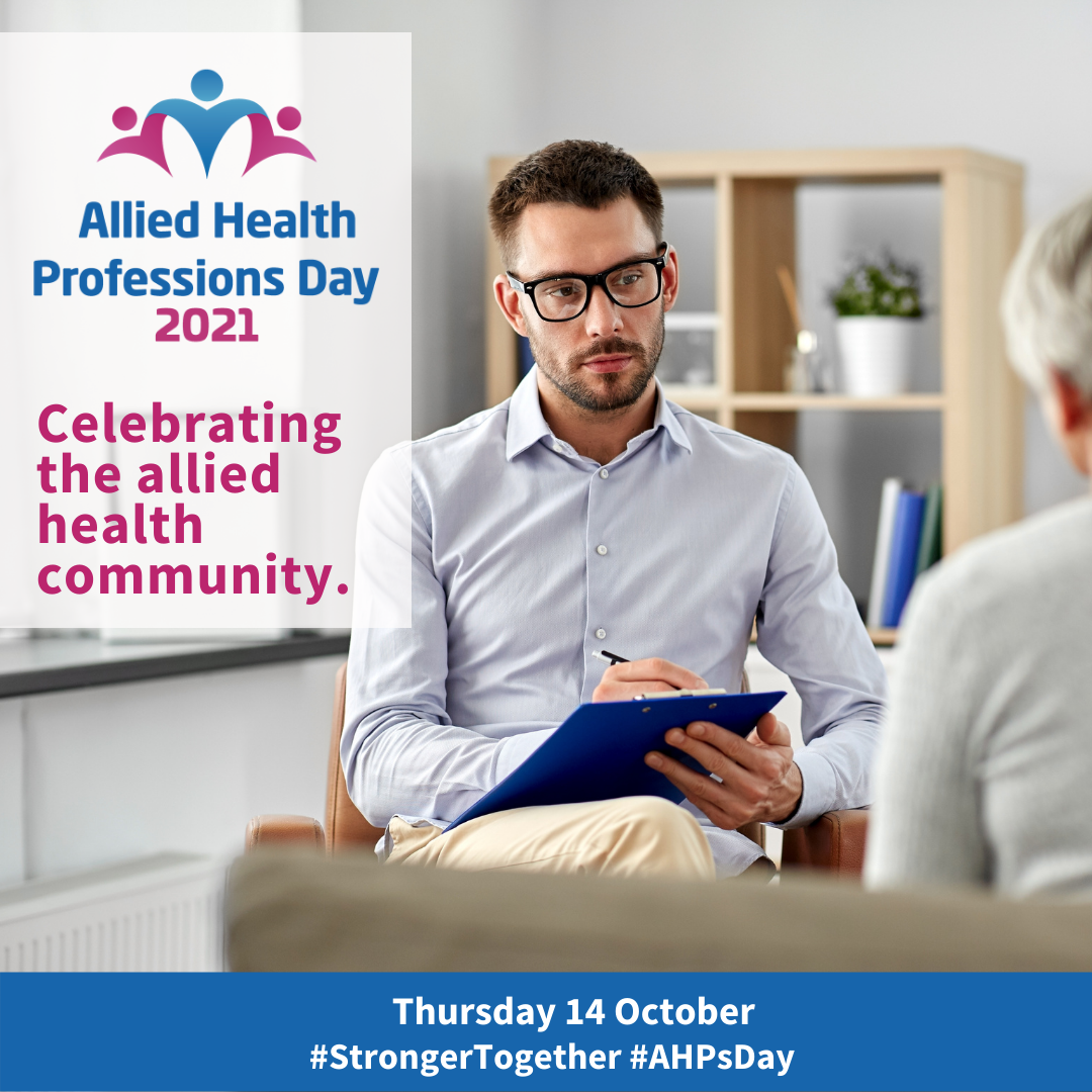 We're celebrating Allied Health Professions Day!