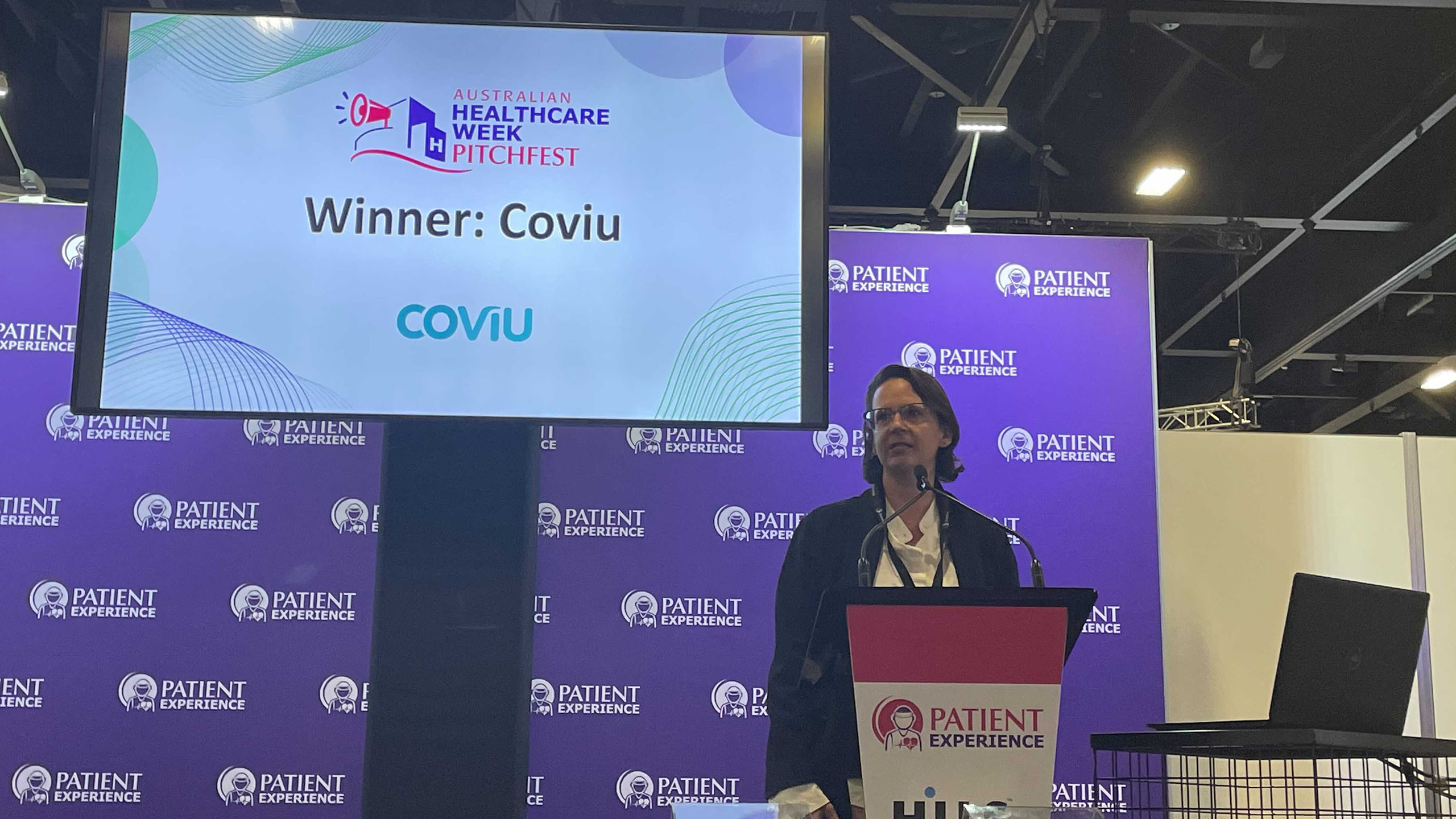 Coviu Named #1 Startup at Australian Healthcare Week