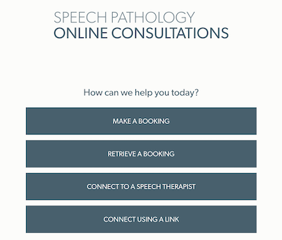 Online bookings for your telehealth services