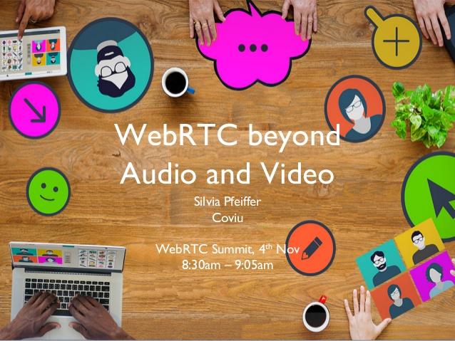 WebRTC is about Peer-to-Peer