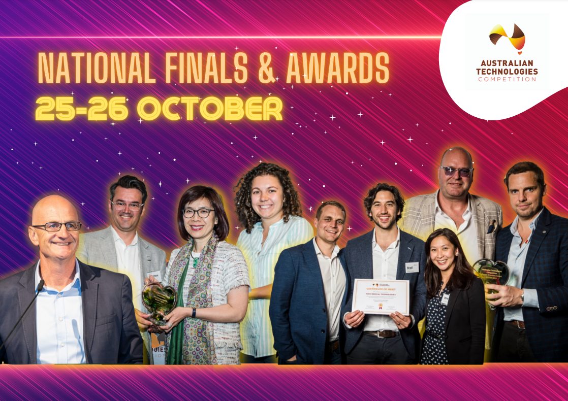 Coviu is a Finalist in the Australian Technologies Competition!